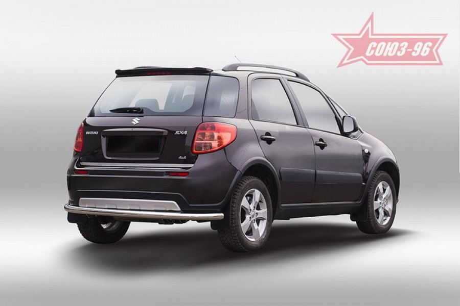 Защита задняя d60,Suzuki SX4 2013-