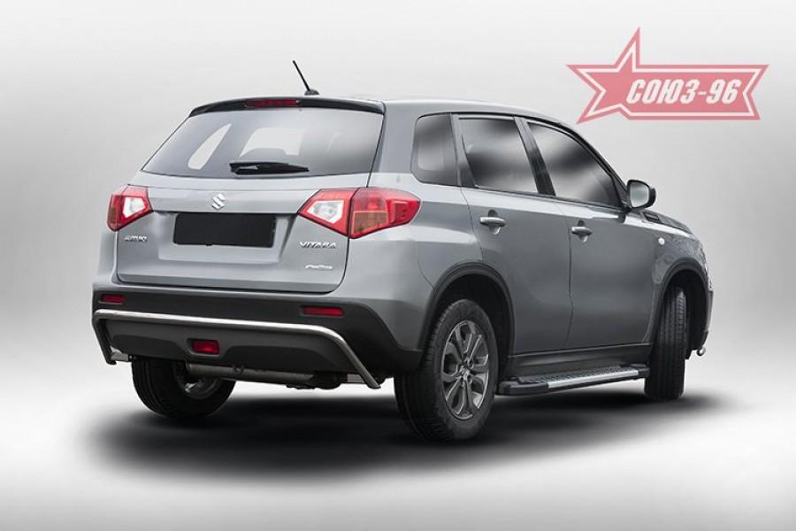 Защита задняя d42 Premium,Suzuki Vitara 2015-