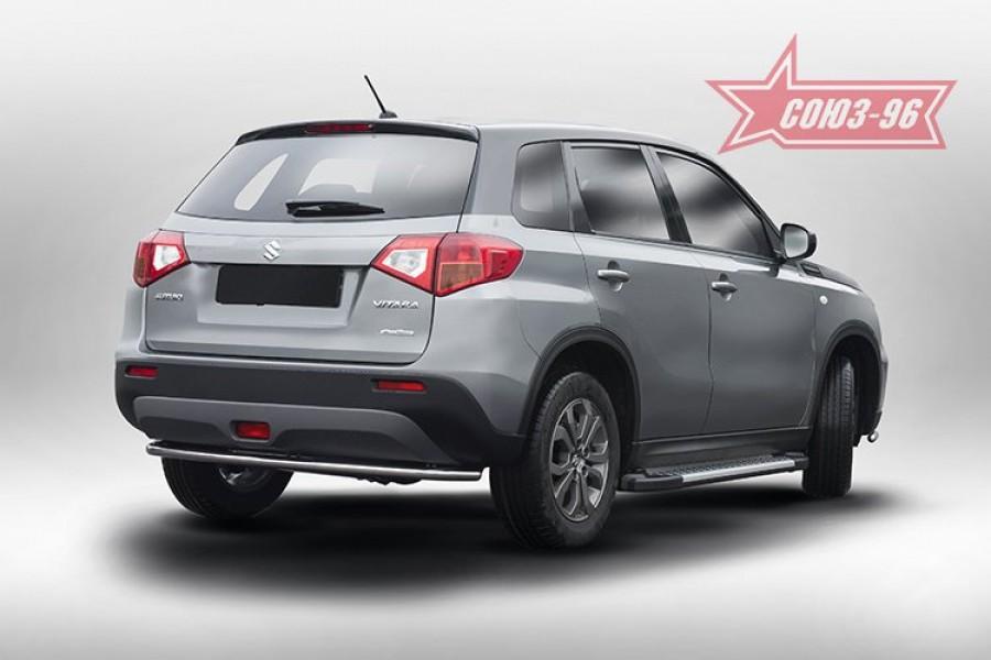 Защита задняя d42,Suzuki Vitara 2015-