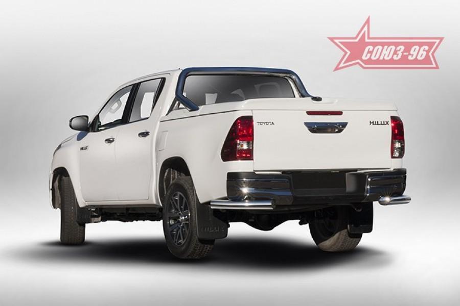 Защита задняя уголки d76,Toyota HiLux 2015-