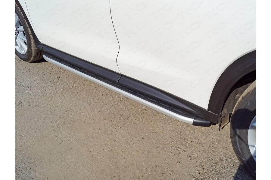 Пороги алюминиевые с пластиковой накладкой 1820 мм