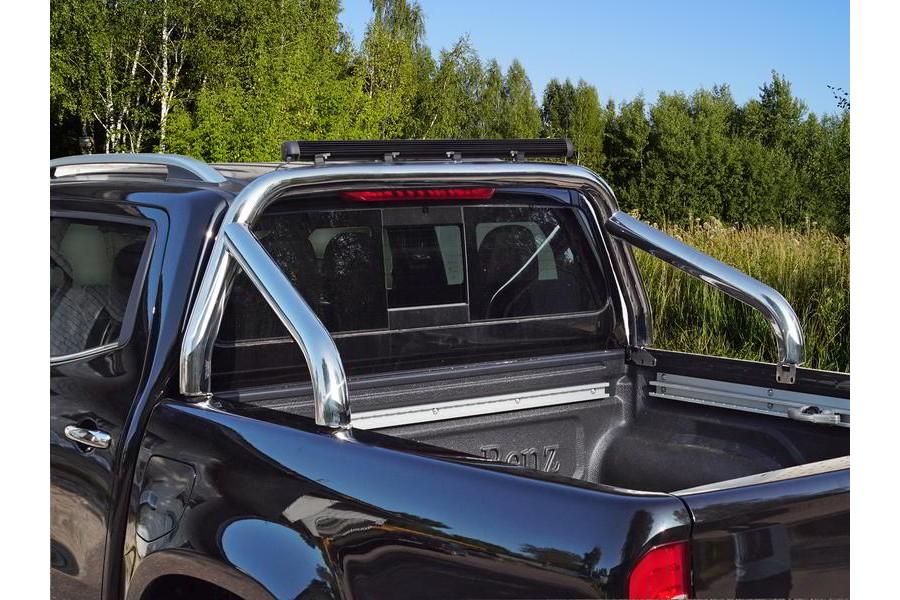 Защита кузова 76,1 мм со светодиодной фарой