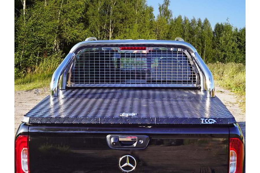 Защита кузова и заднего стекла (для крышки без надписи) 76,1 мм