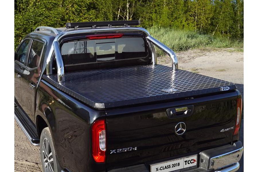 Защита кузова (для крышки) 76,1 мм со светодиодной фарой