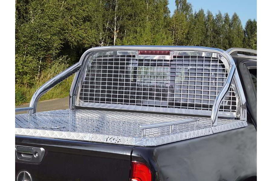 Защита кузова и заднего стекла (для крышки без надписи) 75х42 мм