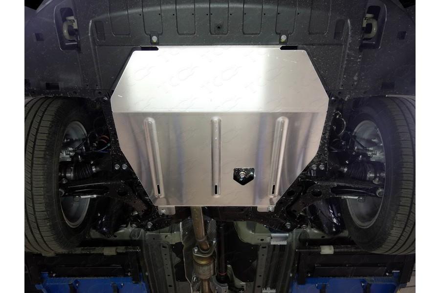 Защита картера и КПП (алюминий) 4мм 2WD