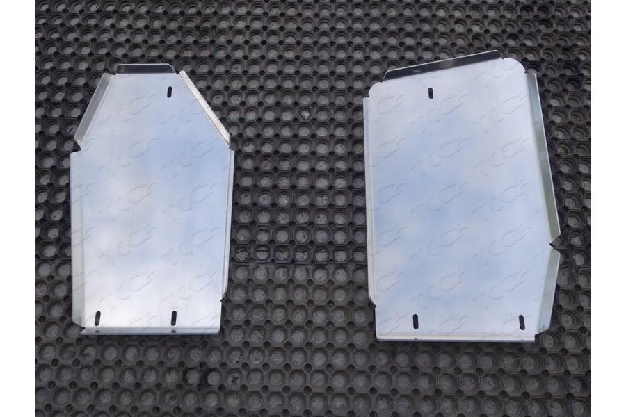 Защита бака (комплект) (алюминий) 4мм