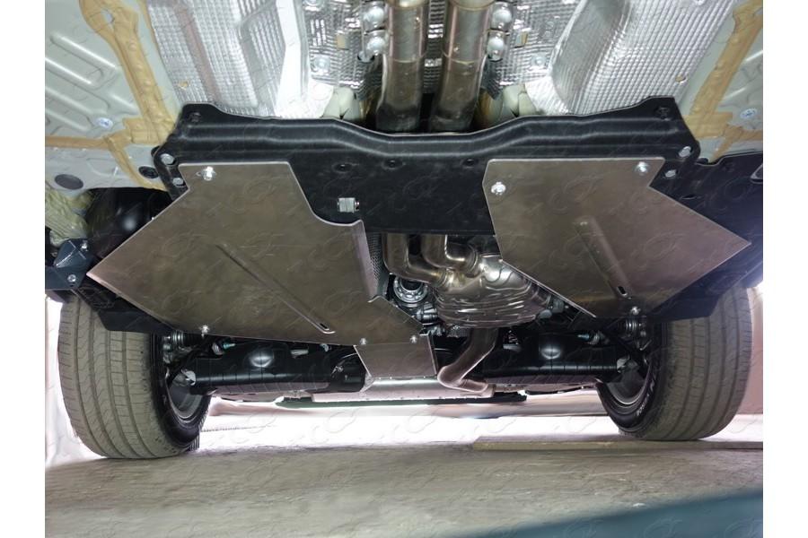 Защита заднего редуктора (алюминий) 4мм (не устанавливается без ZKTCC00147)
