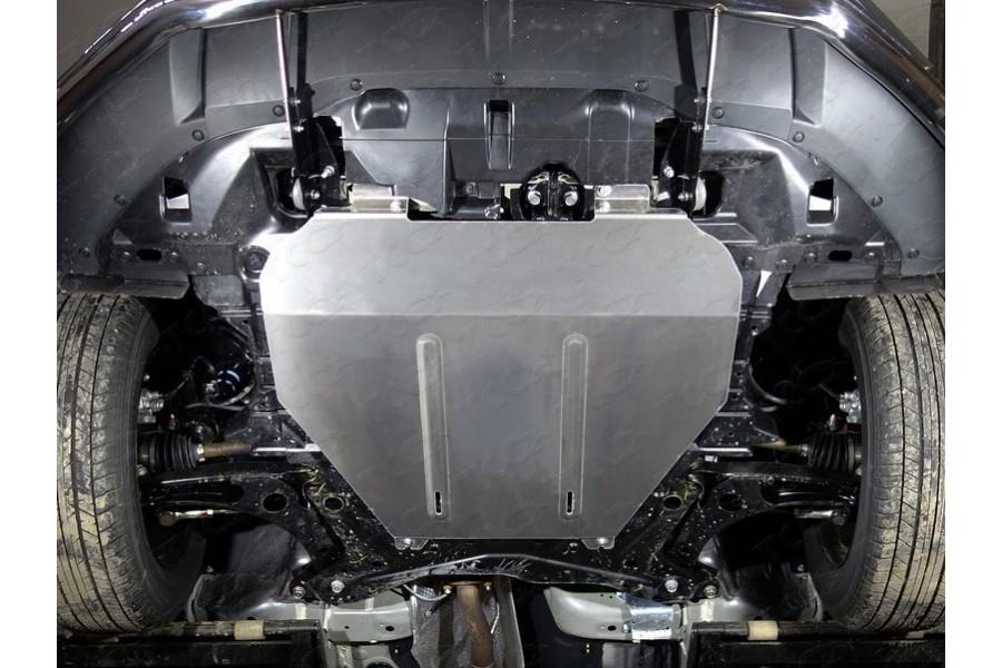Защиты комплект (алюминий) 4мм (картера, бак) (2WD)
