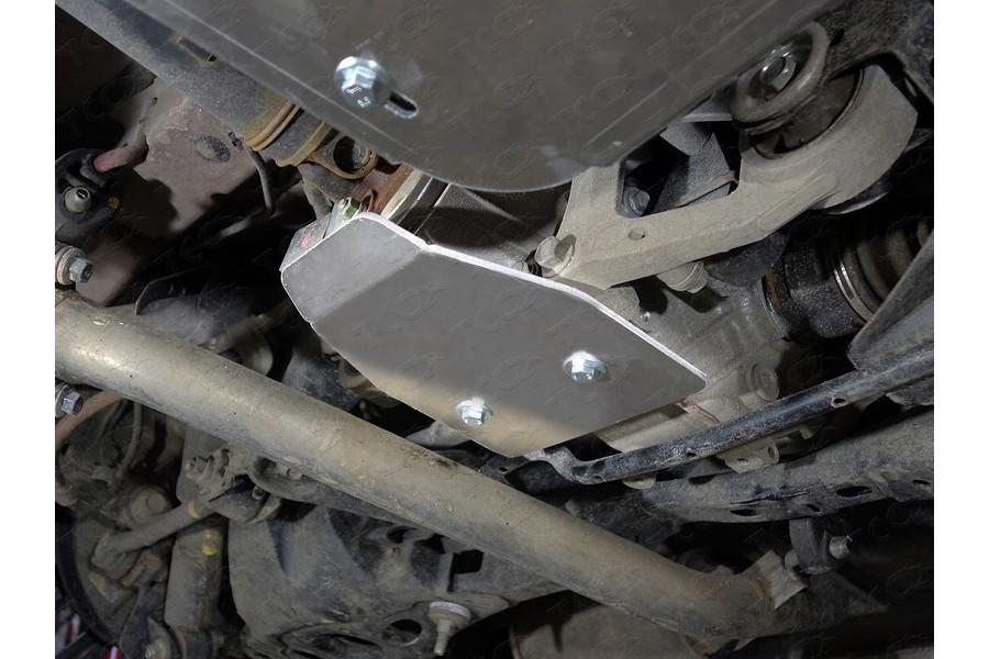 Защита дифференциала (алюминий) 4 мм