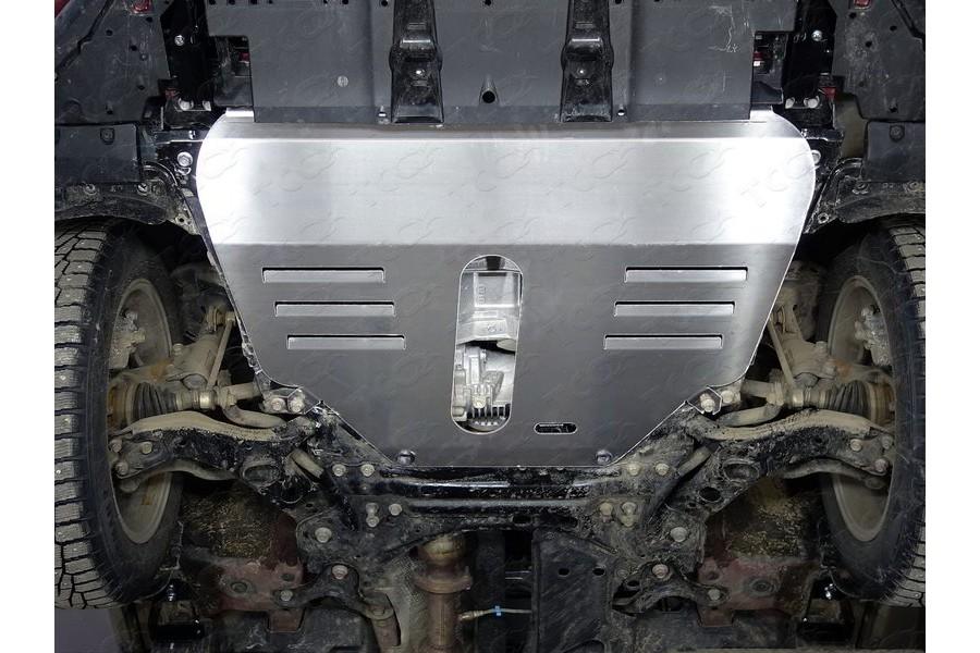 Защиты комплект (алюминий) 4мм (картер и кпп, бак, задний дифференциал)