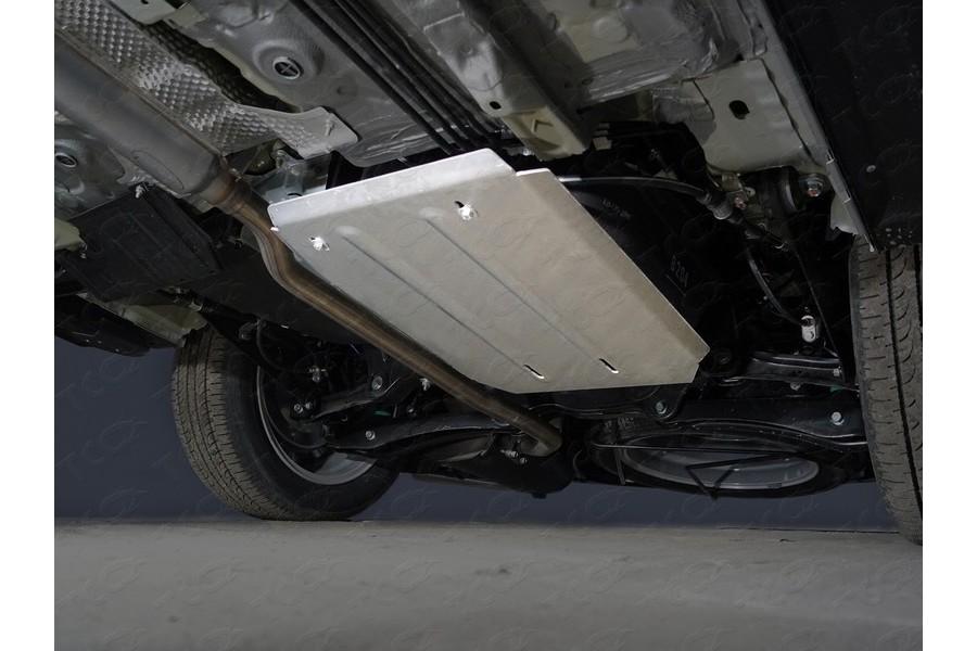 Защита бака (алюминий) 4мм 2WD