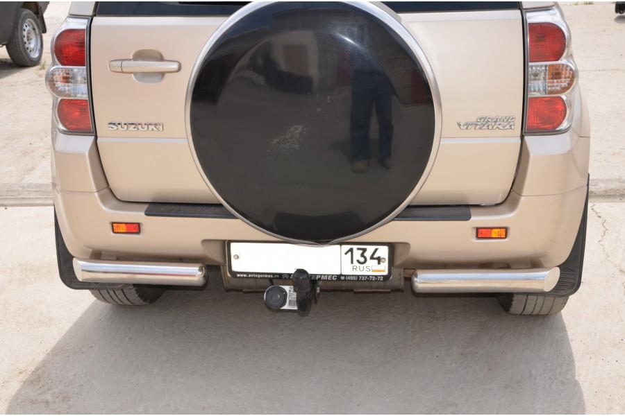 Защита заднего бампера   d=76